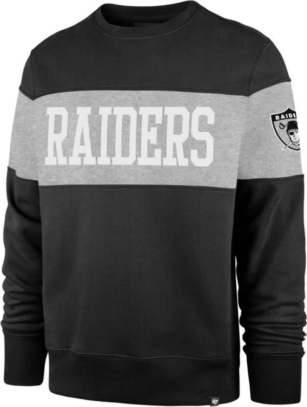 '47 Men's Las Vegas Raiders Interstate Crew Throwback Sweatshirt product image