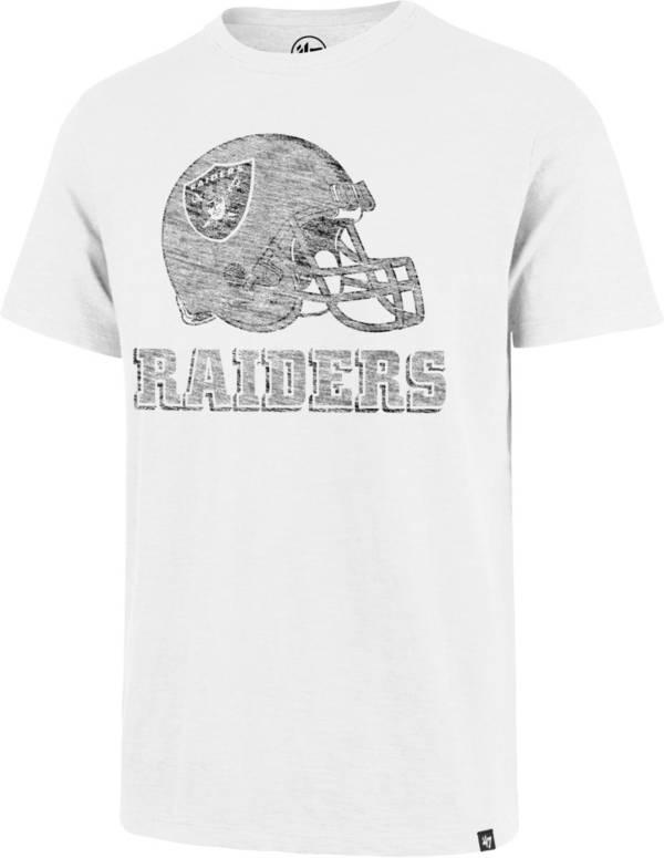 '47 Men's Las Vegas Raiders Scrum Logo White T-Shirt product image