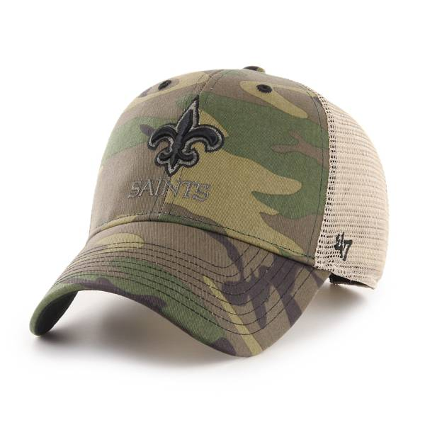 '47 Men's New Orleans Saints Camo Branson MVP Adjustable Hat product image