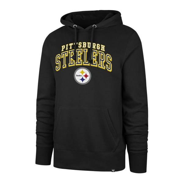'47 Men's Pittsburgh Steelers Black Headline Pullover Hoodie product image