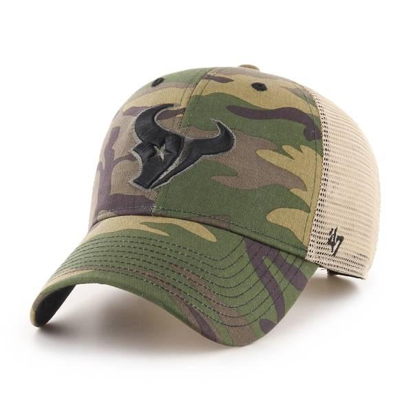 '47 Men's Houston Texans Camo Branson MVP Adjustable Hat product image