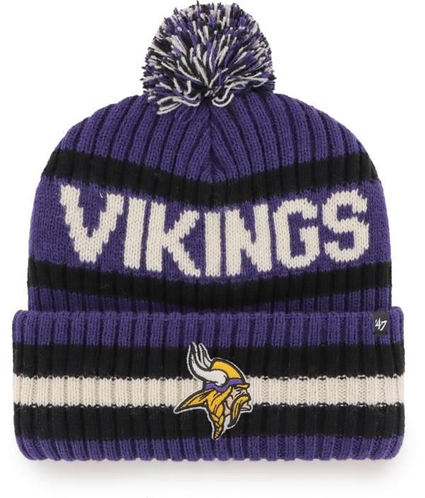 '47 Men's Minnesota Vikings Bering Purple Cuffed Knit Hat product image