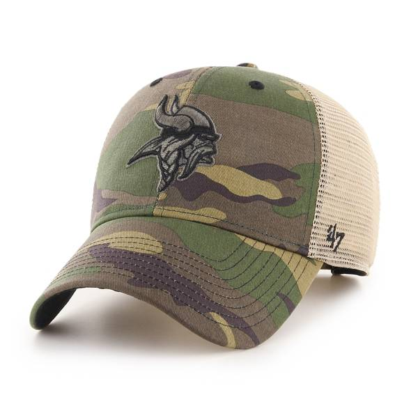 '47 Men's Minnesota Vikings Camo Branson MVP Adjustable Hat product image