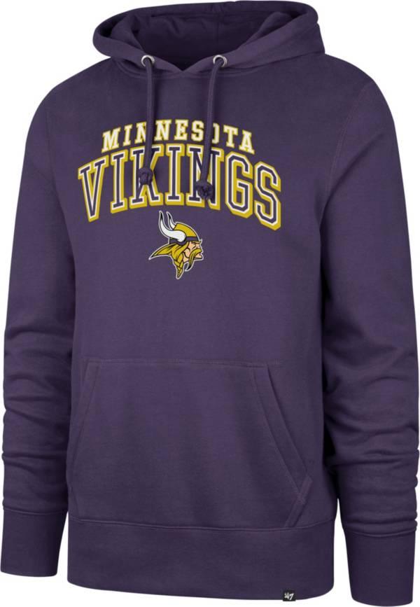 '47 Men's Minnesota Vikings Imprint Purple Hoodie product image