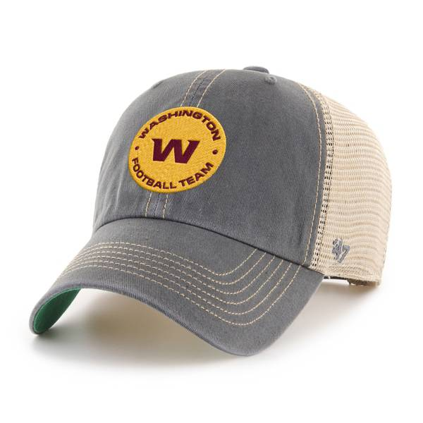 '47 Men's Washington Football Team Trawler Clean Up Charcoal Adjustable Hat product image