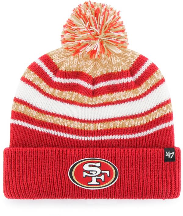 '47 Youth San Francisco 49ers Bubbler Red Knit product image