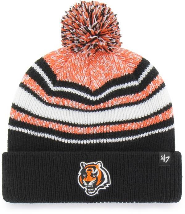 '47 Youth Cincinnati Bengals Bubbler Black Knit Hat product image
