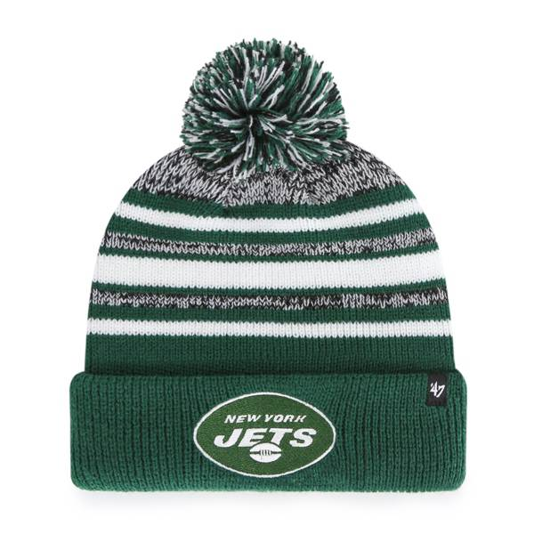 '47 Youth New York Jets Bubbler Green Knit Hat product image