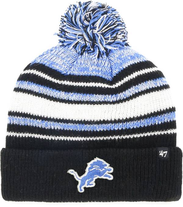 '47 Youth Detroit Lions Bubbler Black Knit product image
