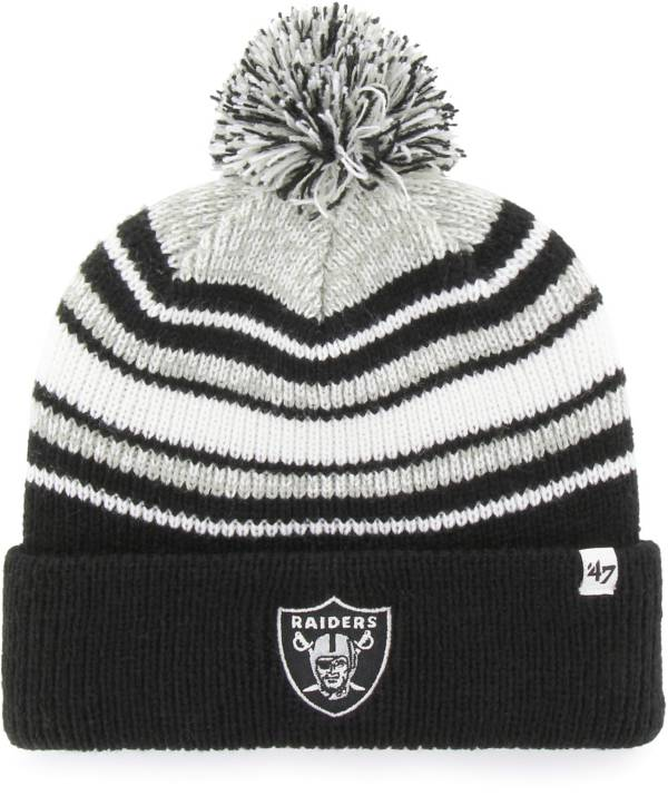 '47 Youth Las Vegas Raiders Bubbler Black Knit Hat product image