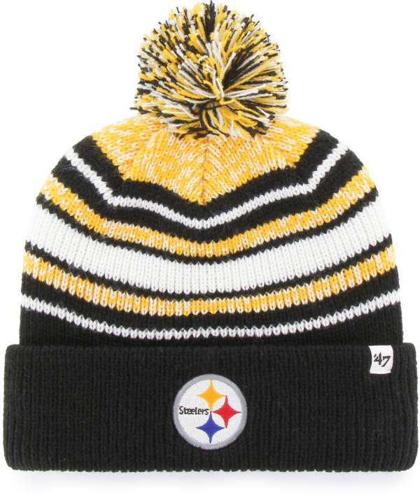 '47 Youth Pittsburgh Steelers Bubbler Black Knit product image