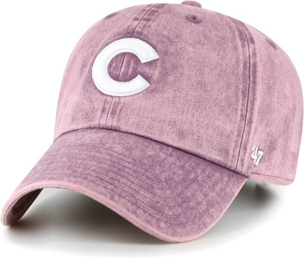 '47 Women's Chicago Cubs Purple Snow Cone Clean Up Adjustable Hat product image
