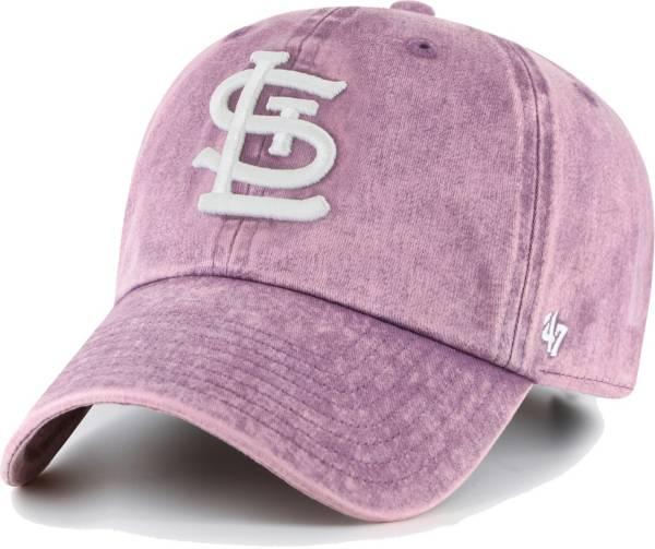 '47 Women's St. Louis Cardinals Purple Snow Cone Clean Up Adjustable Hat product image