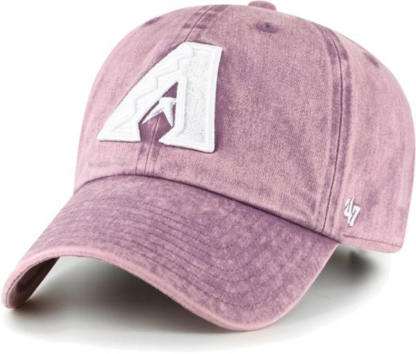 '47 Women's Arizona Diamondbacks Purple Snow Cone Clean Up Adjustable Hat product image