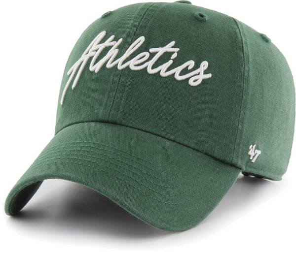 '47 Women's Oakland Athletics Green Lyric Clean Up Adjustable Hat product image