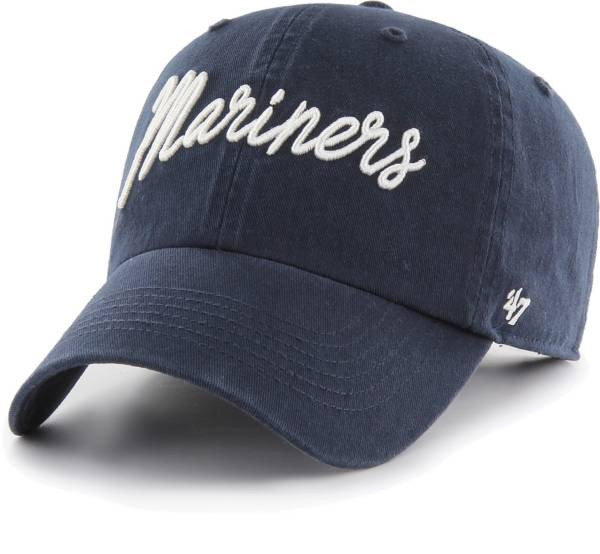 '47 Women's Seattle Mariners Navy Lyric Clean Up Adjustable Hat product image