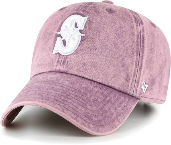 '47 Women's Seattle Mariners Purple Snow Cone Clean Up Adjustable Hat product image