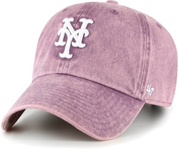 '47 Women's New York Mets Purple Snow Cone Clean Up Adjustable Hat product image