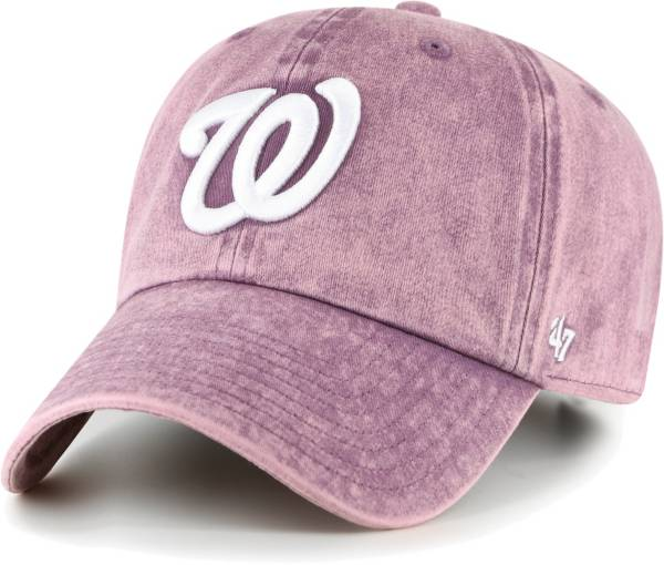 '47 Women's Washington Nationals Purple Snow Cone Clean Up Adjustable Hat product image