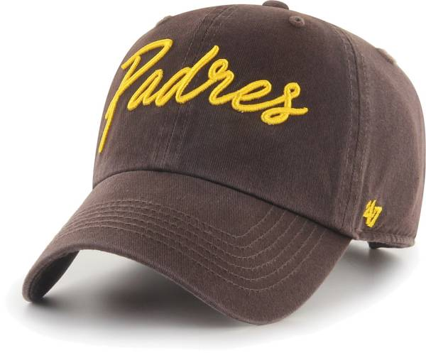 '47 Women's San Diego Padres Brown Lyric Clean Up Adjustable Hat product image