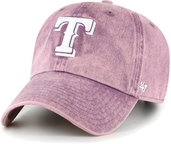 '47 Women's Texas Rangers Purple Snow Cone Clean Up Adjustable Hat product image