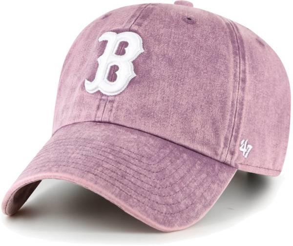 '47 Women's Boston Red Sox Purple Snow Cone Clean Up Adjustable Hat product image