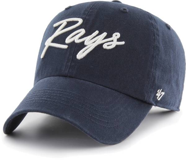 '47 Women's Tampa Bay Rays Navy Lyric Clean Up Adjustable Hat product image