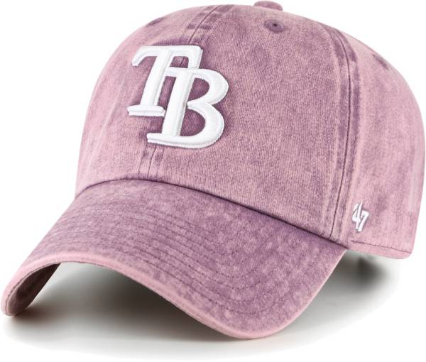 '47 Women's Tampa Bay Rays Purple Snow Cone Clean Up Adjustable Hat product image