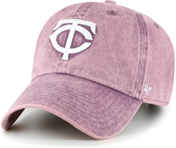'47 Women's Minnesota Twins Purple Snow Cone Clean Up Adjustable Hat product image