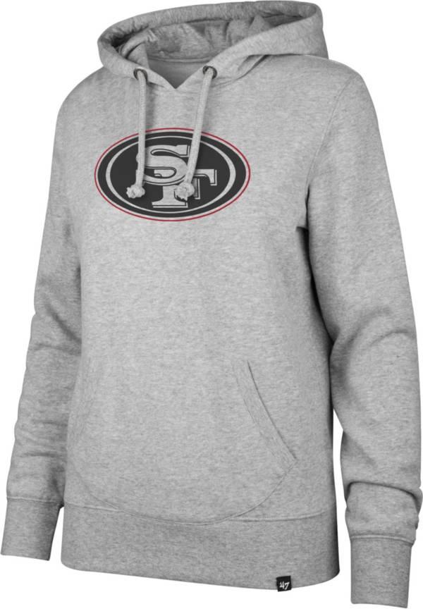 '47 Women's San Francisco 49ers Logo Headline Grey Hoodie product image
