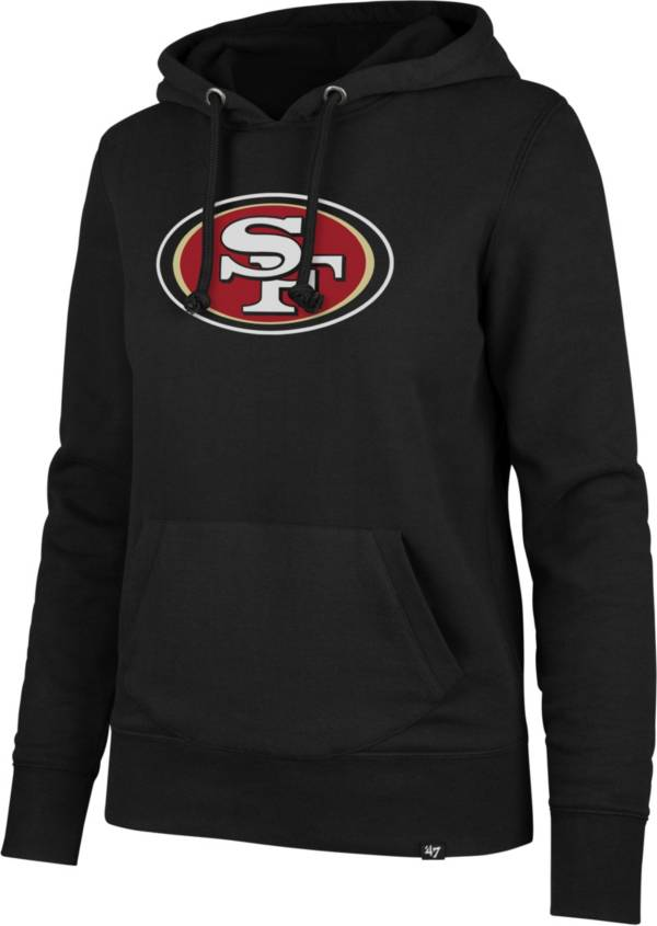 '47 Women's San Francisco 49ers Logo Headline Black Hoodie product image