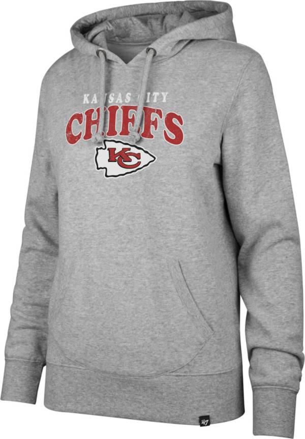 '47 Women's Kansas City Chiefs Go Ahead Grey Hoodie product image
