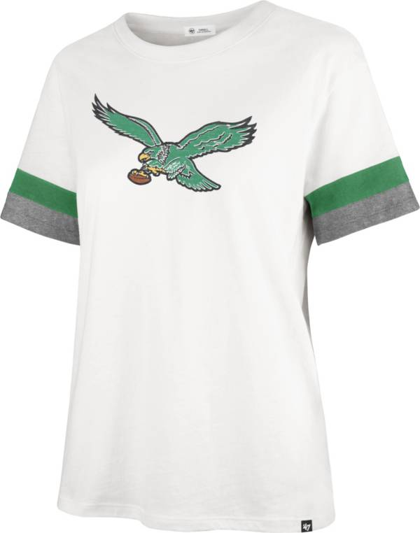 '47 Women's Philadelphia Eagles Sandstone Premier Raglan T-Shirt product image