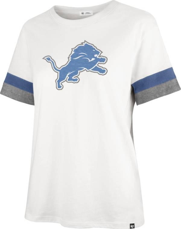 '47 Women's Detroit Lions Sandstone Premier Raglan T-Shirt product image