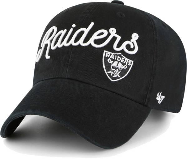 '47 Women's Las Vegas Raiders Black Millie Adjustable Hat product image