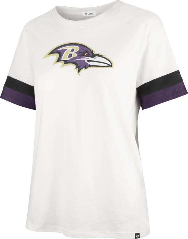 '47 Women's Baltimore Ravens Sandstone Premier Raglan T-Shirt product image