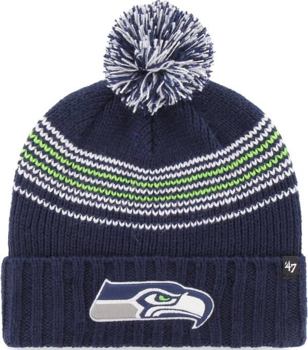 '47 Women's Seattle Seahawks Addison Navy Cuffed Knit Hat product image