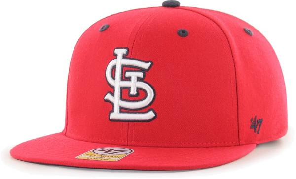 '47 Youth Boys' St. Louis Cardinals Red Vow Captain Adjustable Snapback Hat product image