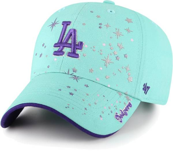 '47 Youth Girls' Los Angeles Dodgers Blue Stardust Clean Up Adjustable Hat product image
