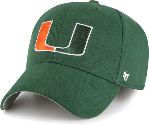 '47 Youth Miami Hurricanes Green MVP Adjustable Hat product image