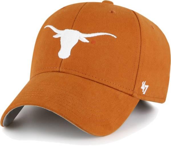 '47 Youth Texas Longhorns Burnt Orange MVP Adjustable Hat product image