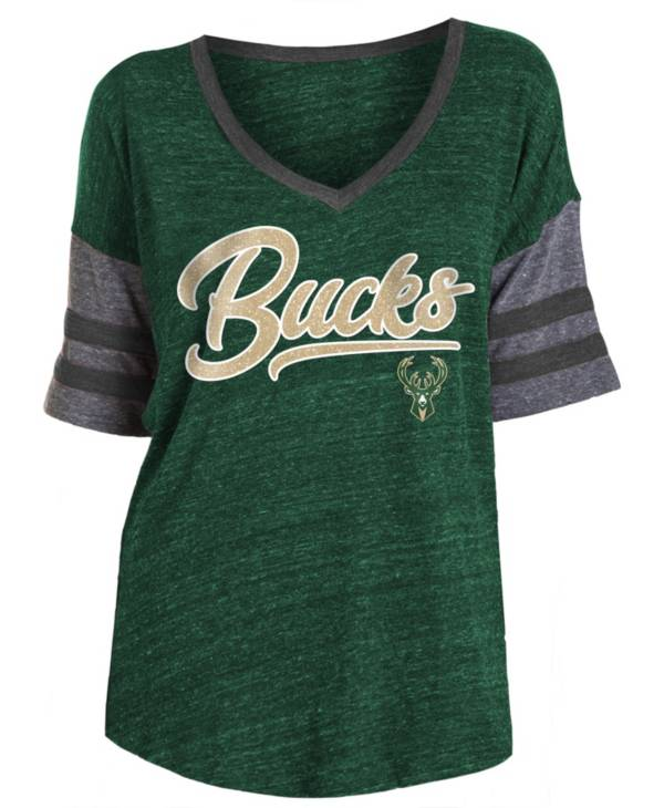 New Era Women's Milwaukee Bucks Scripted Vintage T-Shirt product image