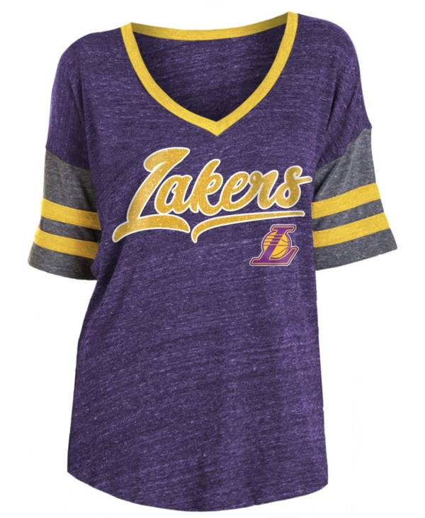 New Era Women's Los Angeles Lakers Scripted Vintage T-Shirt product image