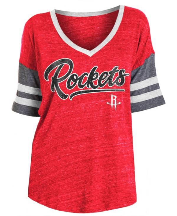 New Era Women's Houston Rockets Scripted Vintage T-Shirt product image