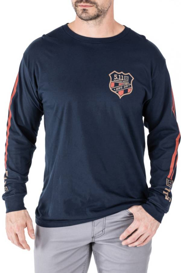 5.11 Tactical Men's Mission Ready Moto Long Sleeve T-Shirt product image