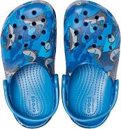 Crocs Kids' Classic Shark Clogs product image
