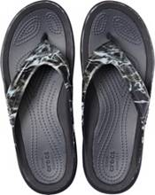 Crocs Men's Swiftwater Mossy Oak Elements Wave Flip Flops product image