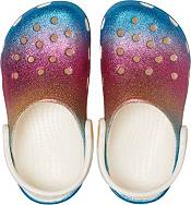 Crocs Kids' Classic Ombre Glitter Clogs product image