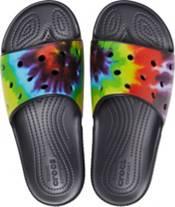 Crocs Adult Classic Tie Dye Slides product image