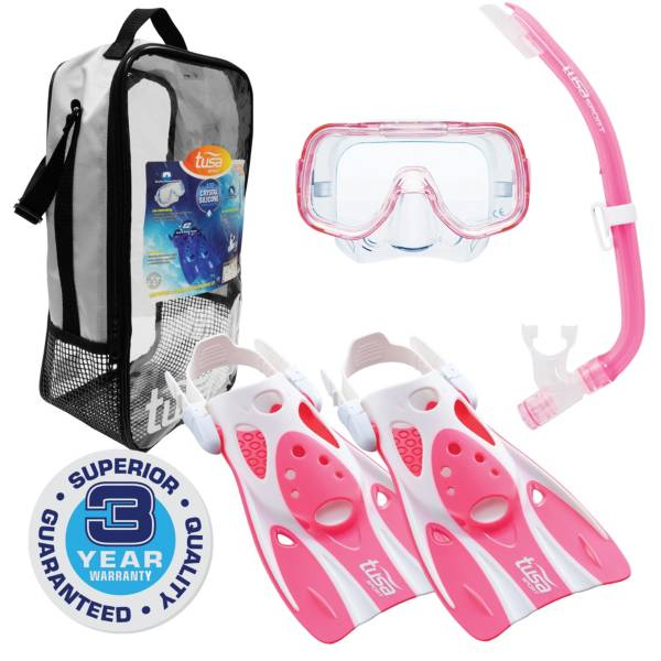 TUSA Sport Jr. Mini Kleio Snorkeling Set with Reusable Bag product image